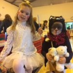 Two children in fancy dress