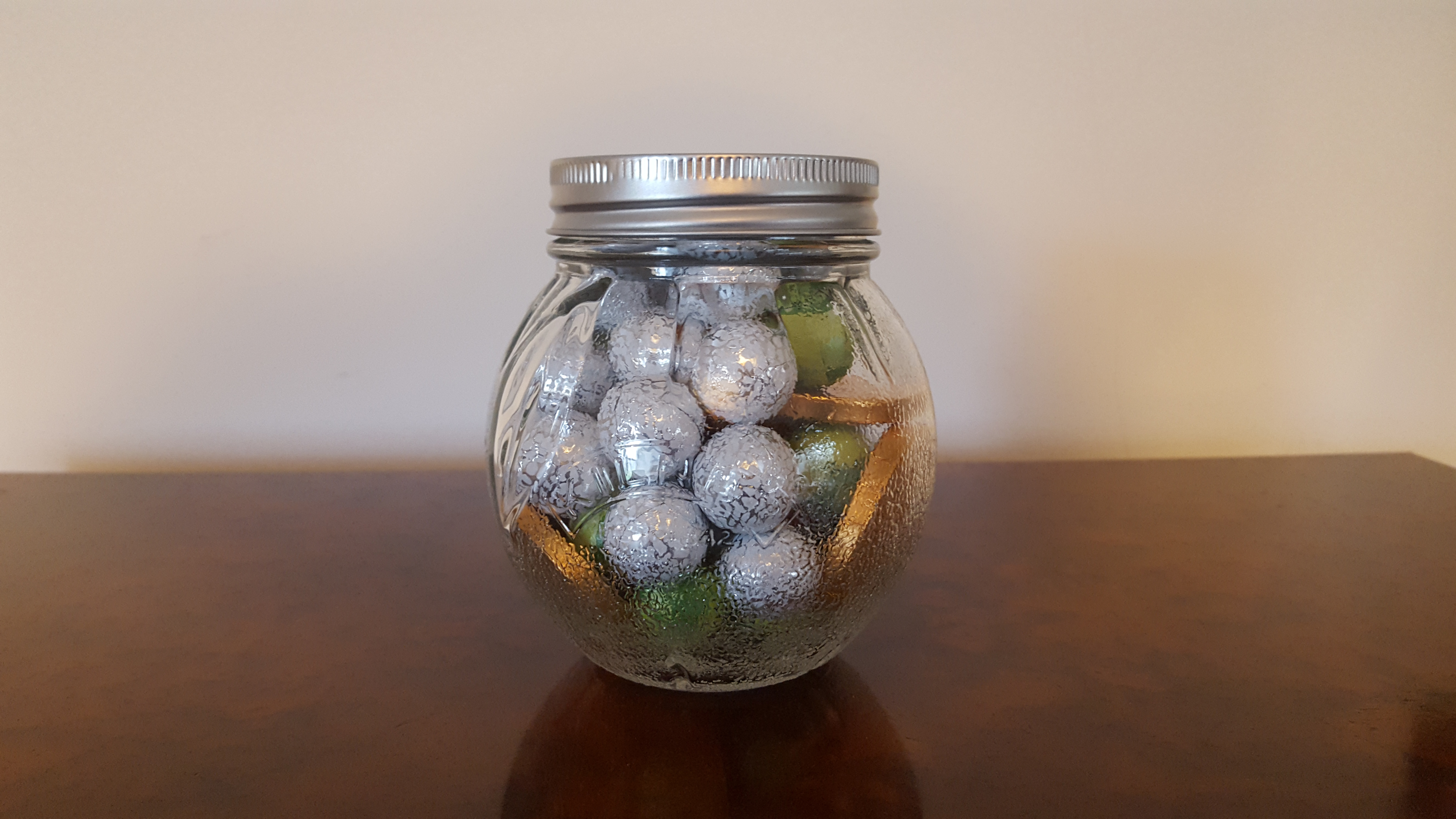 Picture of a jar full of sweets